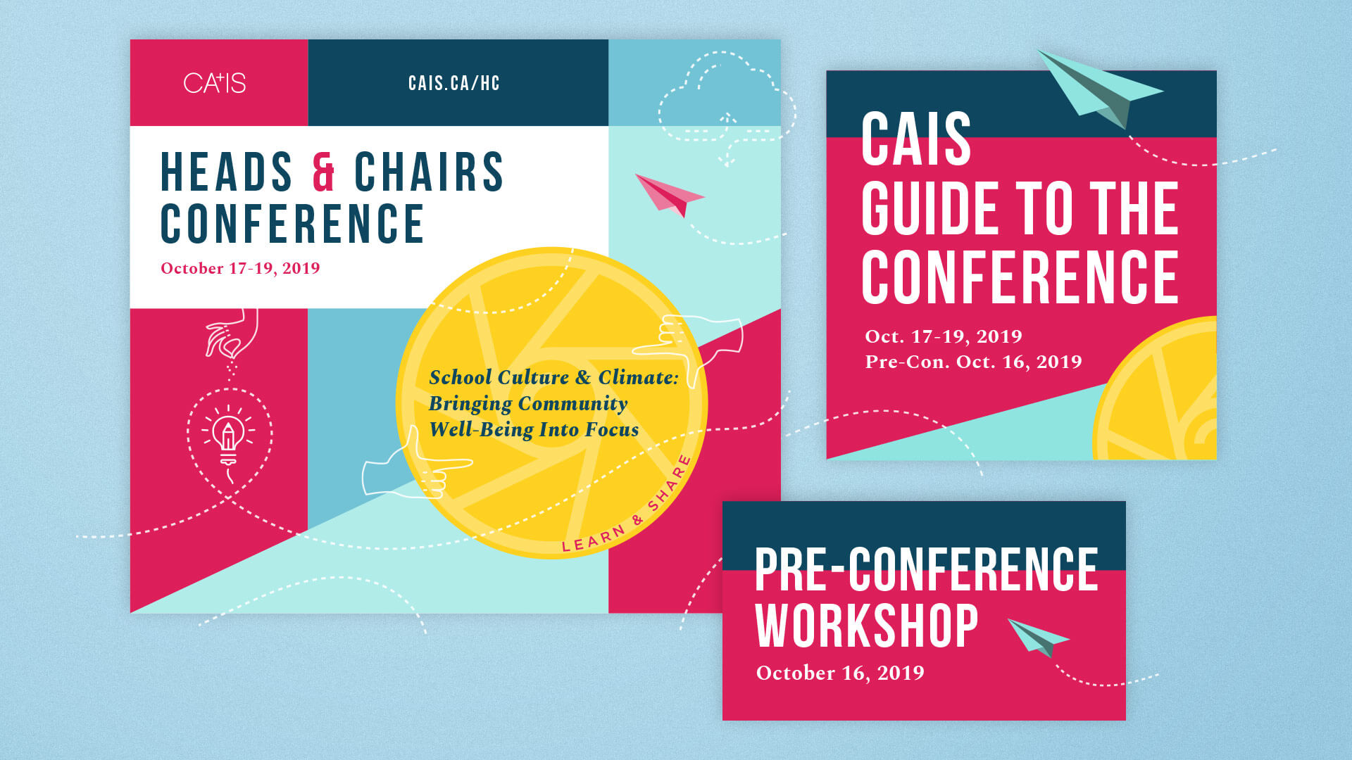 CAIS Heads & Chairs Conference Visual Identity