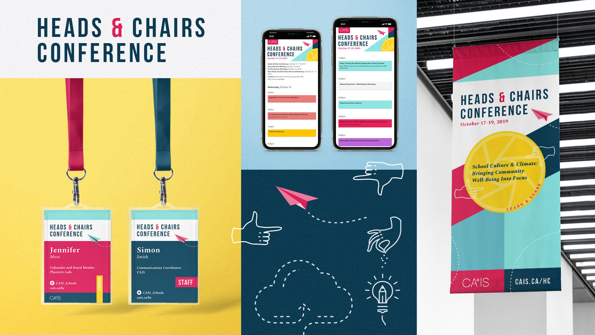 CAIS Heads & Chairs Conference Marketing Collateral